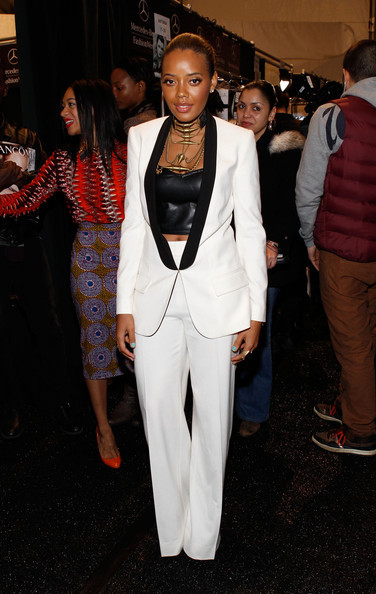 Angela Simmons in SuperTrash at #NYFW Feb 2012 NYC SuperTrash avail thru White Noise Showroom! #getsome