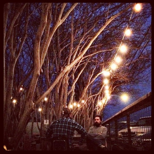 instajohnny:  Nice night. #austin #atx #instgramtexas  (Taken with Instagram at Yellow Jacket Social Club)