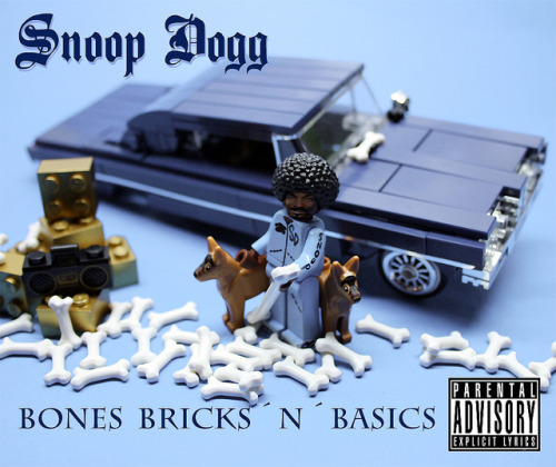 "SnoopDogg - Bones Bricks´n´Basics by ""Orion Pax"" on Flickr.Lego Snoop Dogg"