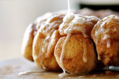 cinnamon sugar monkey bread.