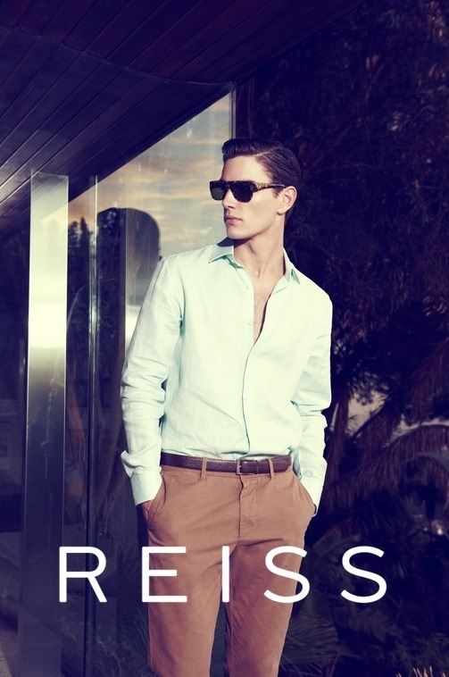 mensfashionworld:  Reiss S/S 2012 Campaign