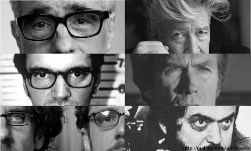 Martin Scorsese -  David Lynch Quentin Tarantino -  Clint Eastwood Coen Brothers - Stanley Kubrick Photo created by rabbitsroom 27th February 2012