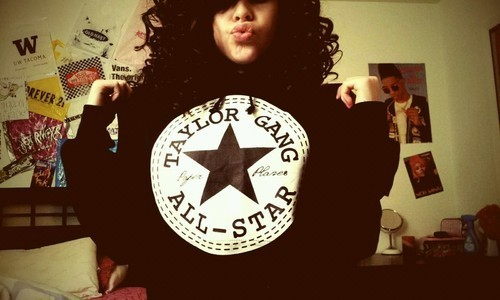 uneducatedprospect:  #TAYLOR GANG OR DIE BITCHES  I want diss jacket sooo bad!!!