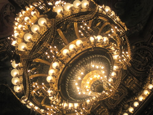 """The actual chandelier from """"Phantom of the Opera"""" ;)"""