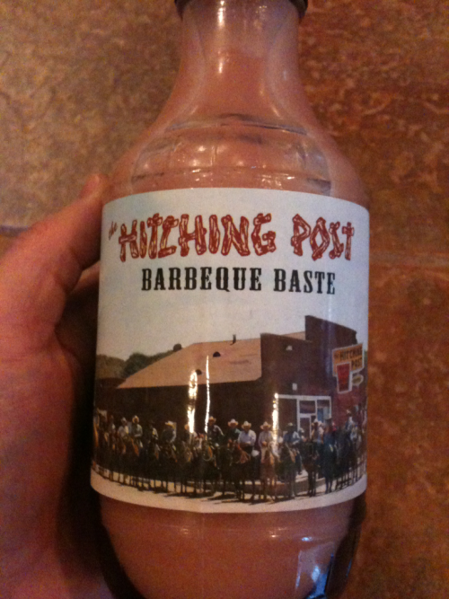 Something new on the 'cue, courtesy of the Hitching Post.