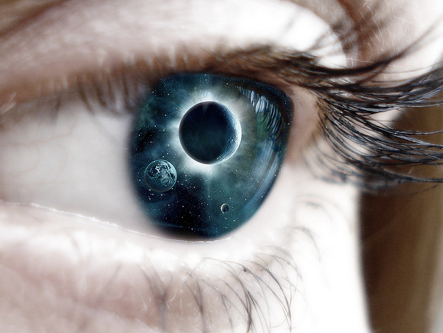 Eye galaxy by MerrySparrow on Flickr.