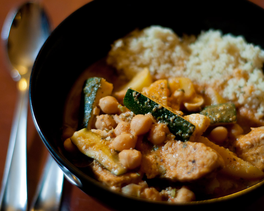A lovely Tempeh Tagine that will cure what ails you. Vegan and gluten-free.