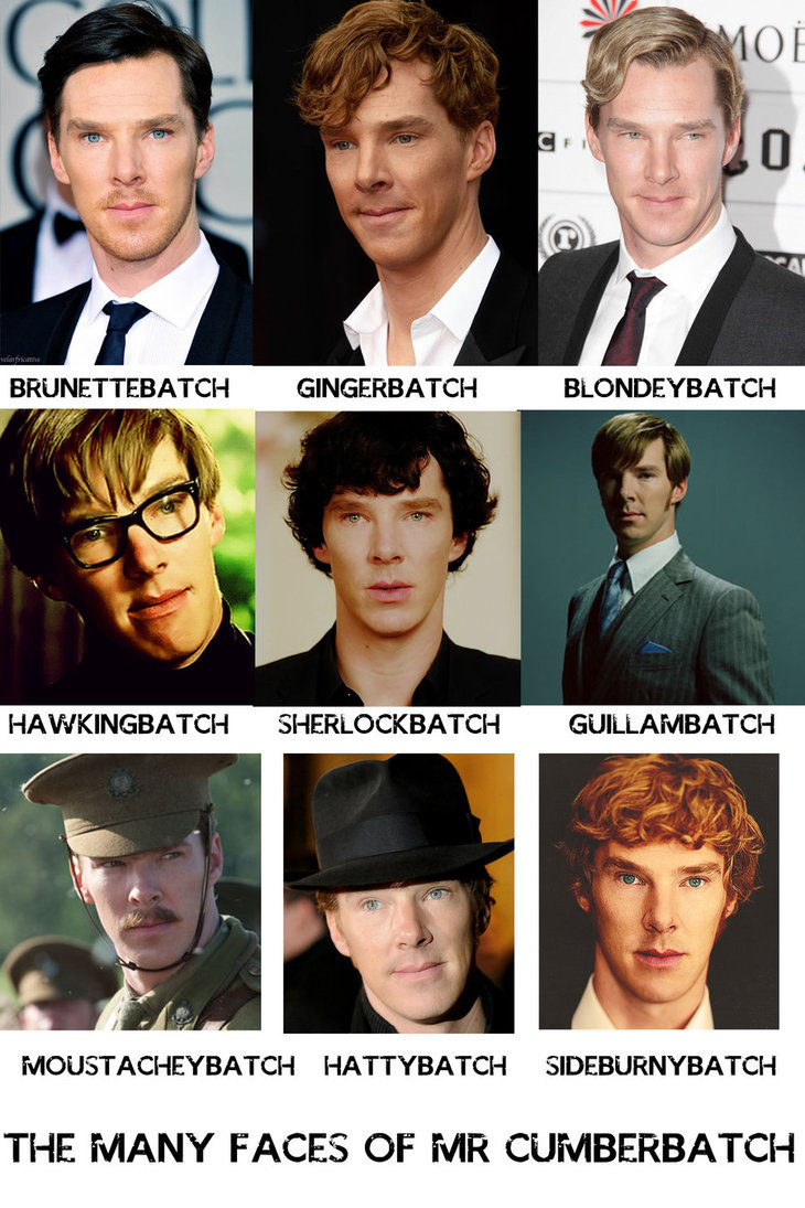 The Many Faces of Benedict Cumberbatch by firelight-12