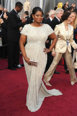 fullfiguredpotential:  Oscar winner Octavia Spencer Photo Credit: Pop Sugar