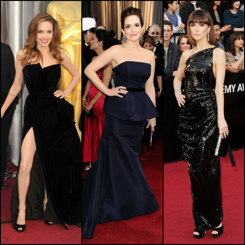 Red Carpet Trend: Blacks and Midnights #eredcarpet #oscars #oscartrends #fashion