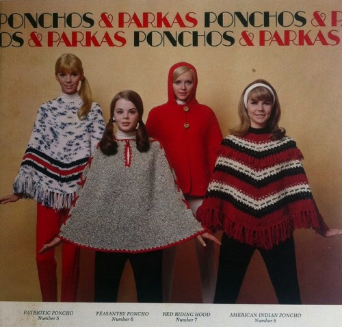 dear friends, remember when i tried really hard to make ponchos a thing 3 years ago? and everyone called it my homeless cape? because i remember. dicks.