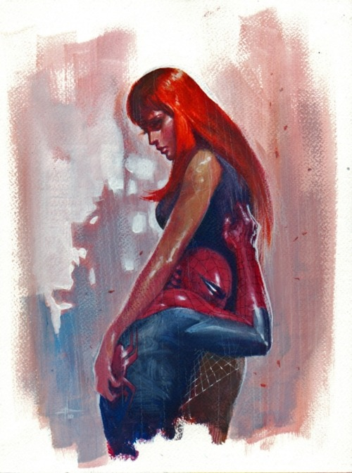 lulubonanza:  Drawn By Gabriele Dell'Otto  Site