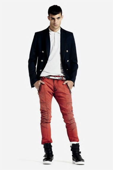 mensfashionworld:  Pierre Balmain Spring/Summer 2012 Lookbook