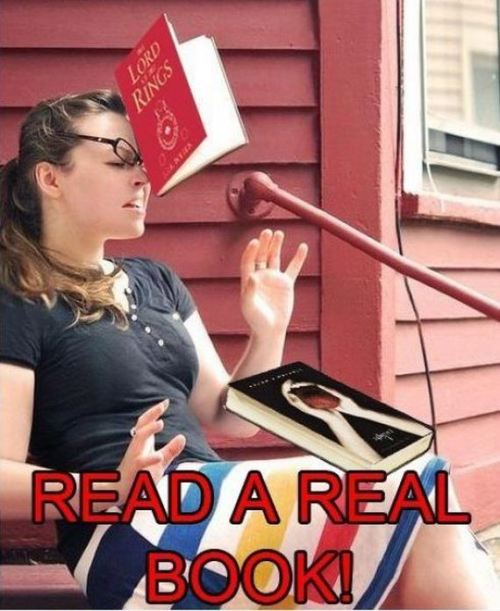 Read a real book…