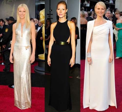 G.Palt has been KILLING IT this award season with those sleek'n'chic gowns. Tonight, you win the Red Carpet Award yet again Ms. Gwen.