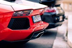automotivated:  lamborghini aventador et gemballa avalanche (by Max.photographies)