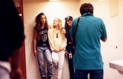 Chris Cornell and Andrew Wood. Room mates. Vocalists of their own bands. Soundgarden and Mother Love Bone. One is still rocking in this world and the other is rocking up there.