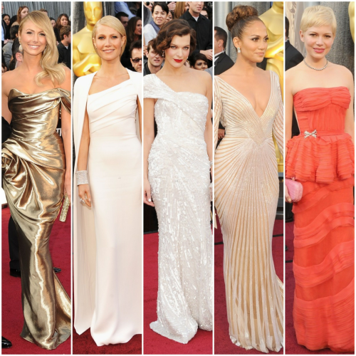BEST DRESSED of the night..#oscars @StacyKeibler @GwynethPaltrow @MillaJovovich @JLo #MichelleWilliams #bestdressed
