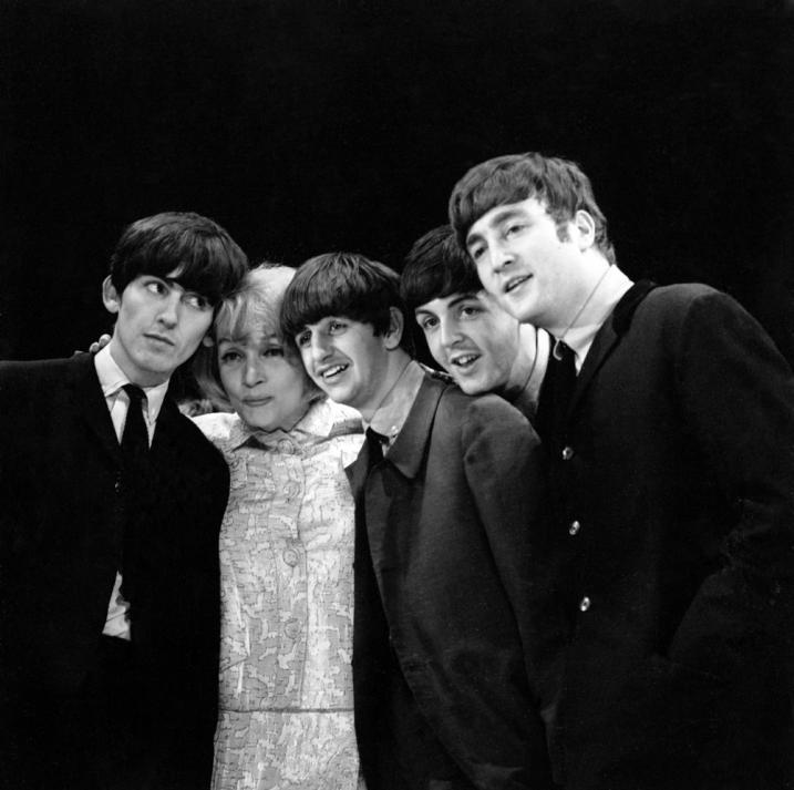 Marlene Dietrich and The Beatles