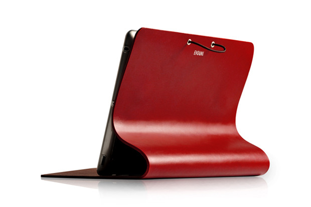 myfrankworld:  EVOUNI Leather 'Arc Cover' for iPad2