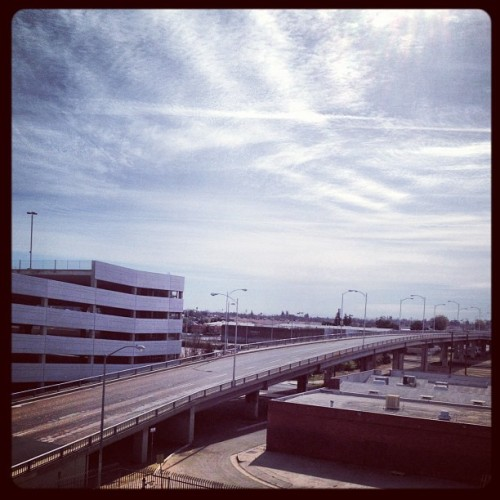 Overpass and sky #industrial #freeway #ig #webstagram #instagram #instagramers #iphoneography #instagramhub #iphone4 #iphone4S #statigram #photography #igers #picoftheday #bestoftheday #igaddict #instaboost (Taken with instagram)