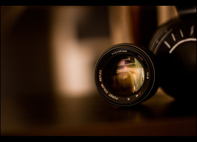 cameracadets:  Porst 50mm f/1.2 by Nacho Pello on Flickr.