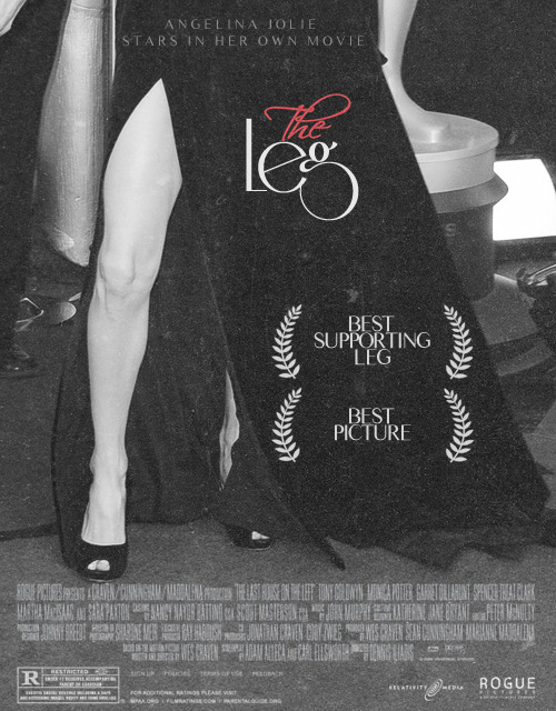 THE LEG (2012)starring Angelina Jolie's Legdirected by Angelina Jolie