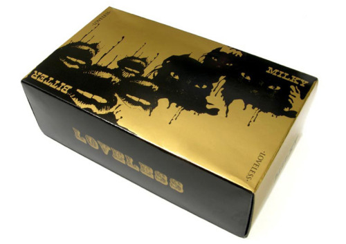 special edition chocolate for the Loveless store in Aoyama ,  packaging design for LOVELESS store in Aoyama, Tokyo  by Surface to Air
