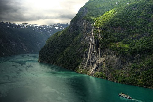 Seven Sisters Waterfall, Geiranger, Norway