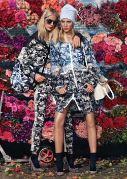 Bloom Town for W Magazine styling Giovanna Battaglia
