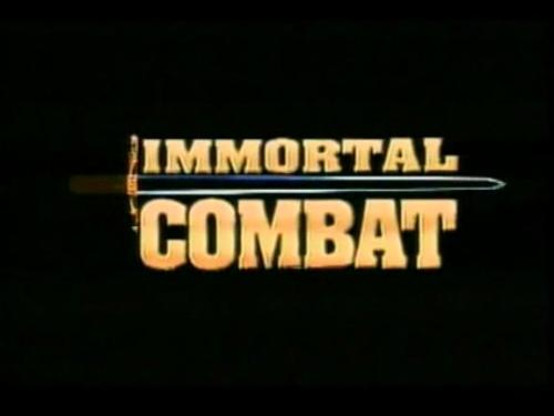 Movie: Immortal Combat [1994]  Directed By: Dan Neira  Movie Poster: Immortal Combat  Wrestler(s) captured: 'Rowdy' Roddy Piper (as John Keller)