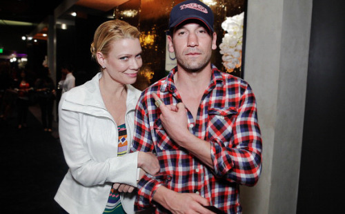 idbangshanewalsh:  Jon Bernthal & Laurie Holden at the Oscars Gift Party 2/25/12