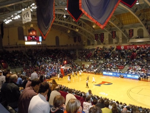 1. The Palestra Philadelphia, Pennsylvania, USA Built: 1927 - Capacity: 8,722 Home of the University of Pennsylvania Quakers, and spiritual home of Philadelphia Big 5 basketball. Photo by Jonathan Yardley