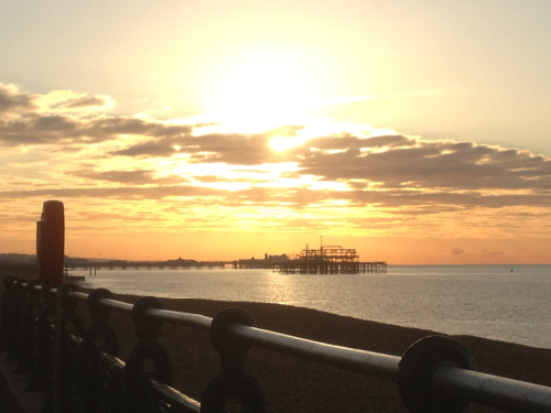 Brighton Winter sunrise :)