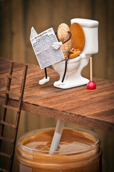 happyhippiechic:  creative-art-and-ads:  How peanut butter is made  whatever its still delicious