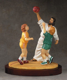 magdolenelives:  Don't make Jesus throw a hard foul.   what i want to to do in heaven with Jesus~