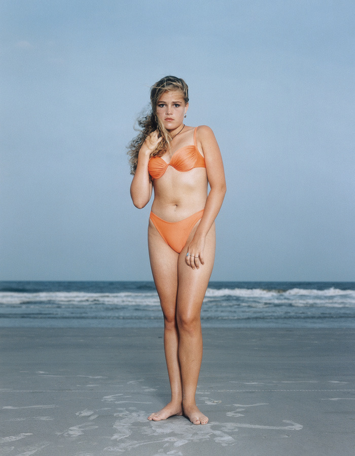 Rineke Dijkstra - Hilton Head Island, S. C., USA, June 24 1992, 1992, Colour print