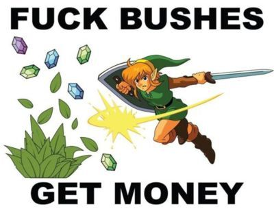 Got 99 bushes but a rupee ain't in one.