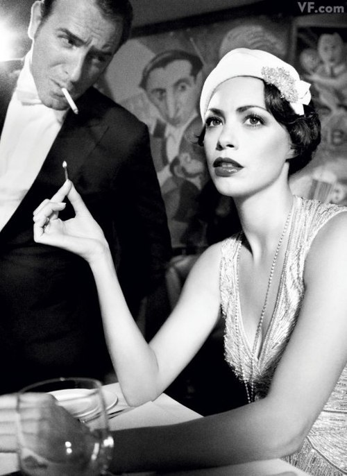 fuckyeahmodernflapper:  mirabelia:  Vanity Fair's 2012 Hollywood Portfolio | Hollywood | Vanity Fair on We Heart It. http://weheartit.com/entry/23768799  Congrats, The Artist!!  Sabía que The Artist ganaría!