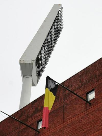 floodlightfancy:  King Badouin Stadion (Heysel), Belgian National Team, Belgium (submitted by MC)