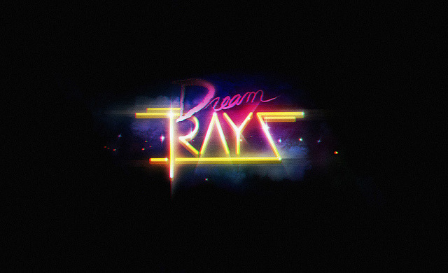 Dream Rays logo on Flickr. Logo for Dream Rays (music & design blog). Follow here: http://dreamrays.tumblr.com