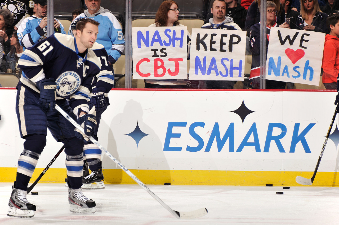 Is Rick Nash on his way out of Columbus? Follow our 2012 NHL trade deadline live coverage.