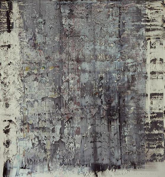 dailyartjournal:  Gerhard Richter, Untitled (898-12) Oil on paper