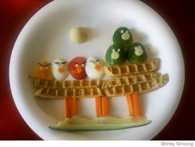 Delectable Angry Birds Breakfast!