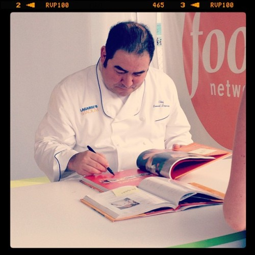 Emeril at the SOBE Wine & Food Festival (Taken with Instagram at SoBe Food & Wine Festival)