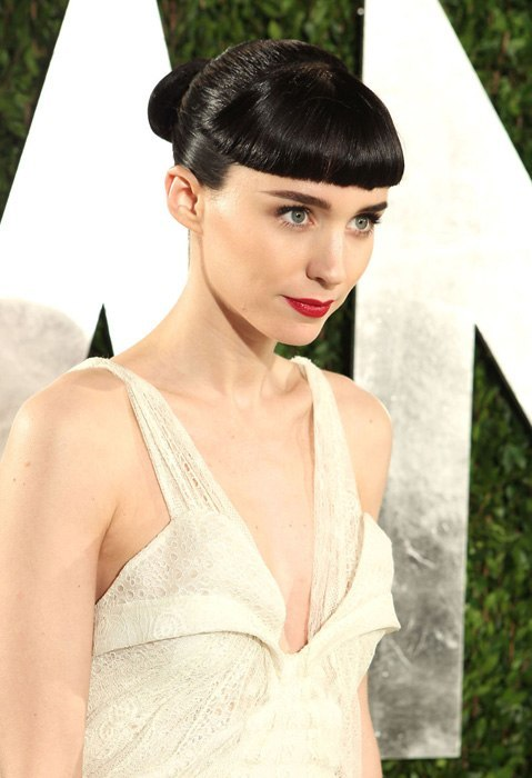 Rooney Mara. Inside the Vanity Fair Oscar Party—all the guests, here. Photograph, Getty Images/Vanity Fair.