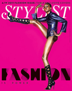 stylesight:  Alex Wek for Stylist F/W 11
