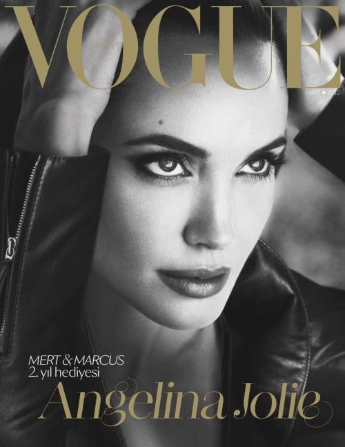 Angelina Jolie in Vogue Turkey March 2012 by Mert & Marcus