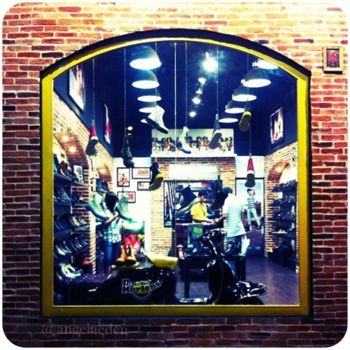 Dr. Martens at 39 Le Loi Street. #docmartens #boots #shoes #classic #shop (Taken with instagram)