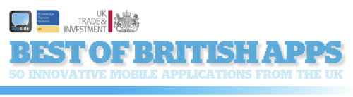 The appside in association with UKTI and the ICT Knowledge Transfer Network have published as list of the 50 most innovative British apps. We've been involved in 3  - Shazam Player, Fanatix and our own MPme - and we reckon that's not bad going. Smiley face.  Here's the report.